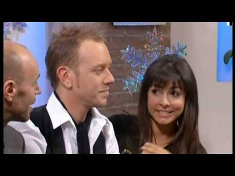 Roxanne Pallett slags off Zoe Salmon - Dancing On Ice - This Morning 2nd March 2009