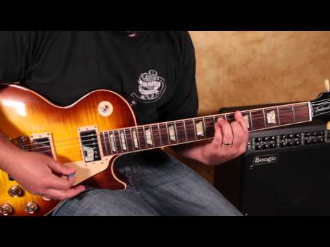 Guitar Lessons - Double Stops - Blues And Rock - Rhythm Guitar Lesson