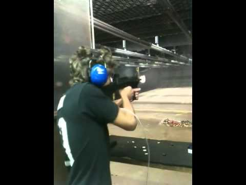 Shooting a Fully Automatic Uzi