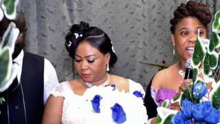 MARRIAGE BLESSING BETWEEN MR DANIEL AND MRS GIFTY