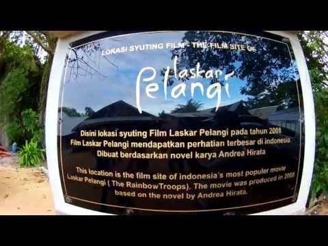 Pantai Laskar Pelangi - Belitung Video