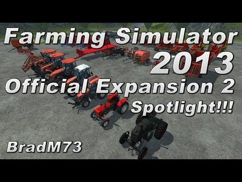 Farming Simulator 2013 Official Expansion 2 Spotlight!!