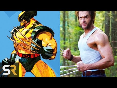 10 Superheroes Who Look NOTHING Like The Comics (Wolverine, Deadpool and more!)