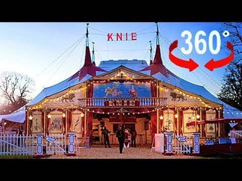 Tauchen Sie ein in die Welt von Circus Knie I 360 Video