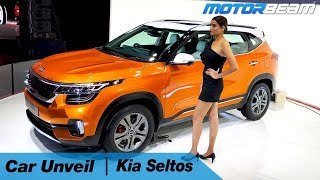 Kia Seltos Compact SUV - Unveil & Walkaround | MotorBeam