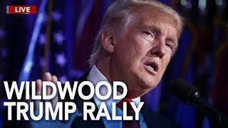 LIVE: President Trump speaks at rally in Wildwood, New Jersey