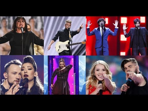 Eurovision Social Messages - My Top 60 (2010 - 2019)