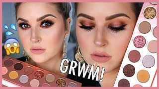Chit Chat GRWM! 🎥💄 Laura Lee Nudie Patootie Palette