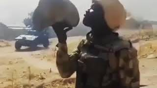 See How Nigerian Army Soldiers Dare Boko Haram To Come Out And Fight