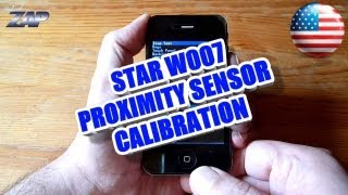 Star W007 aka M100 Google 4S Phone Proximity Sensor Calibration How to Tutorial - ColonelZap