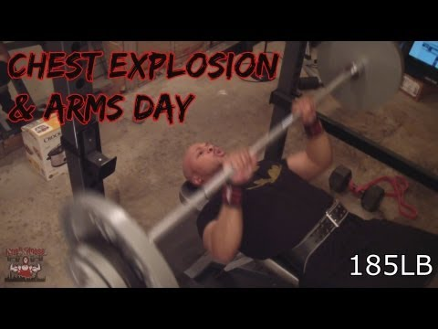 Arm (Biceps,Triceps, & Forearm) & Chest Day 