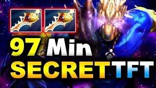 97 MIN LONG + 75k GOLD GAME! - SECRET vs TFT - EPICENTER MAJOR DOTA 2