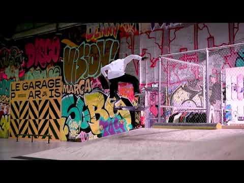 Opening Le Garage Skatepark/Shop in Paris, France