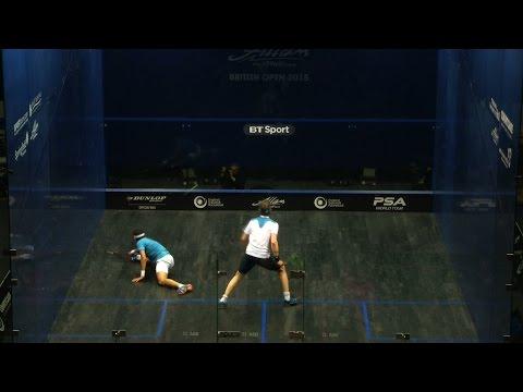 Squash: British Open 2015 Round Up : Men's Rd1 [Pt2]