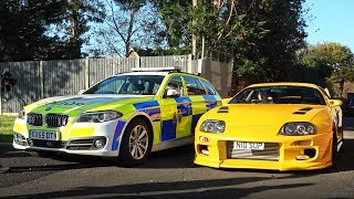 CROWDED CAR MEET ANNOYS THE POLICE!