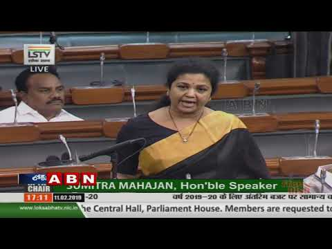 TDP MP Butta Renuka Speech in Parliament over AP Special Status | ABN Telugu