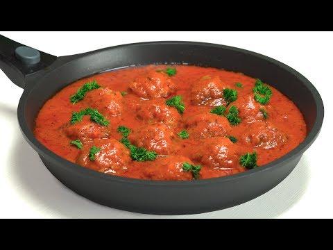 Тефтели в томатном соусе. Рецепт от Всегда Вкусно!