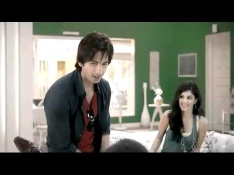 Dashing Shahid Kapoor Featuring In Dulux Paints Tv Commercial...