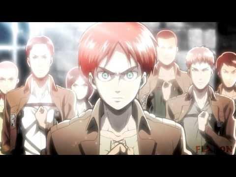 "Attack On Titan AMV ENGLISH ""Guren No Yumiya"" Attack On Titan /Lullaby Ver/ (AmaLee) [HD]"