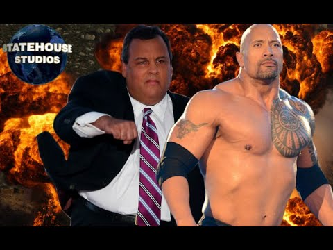 Chris Christie Messes with The Rock...and Gets Smackdown!