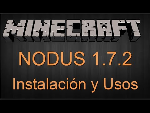 Como Descargar Nodus para Minecraft 1.7.2   Fácil y Rápido