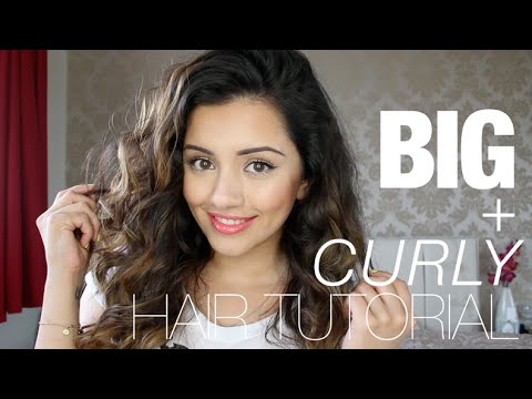 Tutorial | Big Curly Hair Tutorial | Kaushal Beauty video