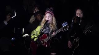 Madonna - Imagine @ Washington Sq. Park (7 Nov 2016)
