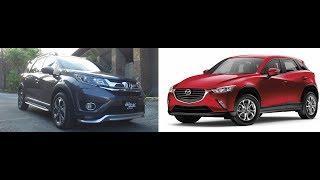 Auto Focus | Head to Head:  Honda BR-V VS Mazda CX 3