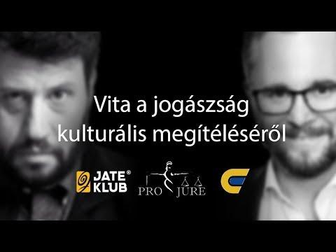 Vita Ragány Zoltánnal a szegedi JATE Klubban a jogászság kulturális megítéléséről | 2019.11.19.