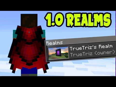 Minecraft Pocket Edition REALM 1.0 Update - MCPE 1.0 SURVIVAL with YOU! 'NEW MEMBERS' (MCPE 1.0)
