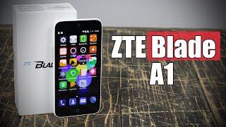 Zte Blade A1 обзор шикарного смартфона за 99$ с Touch ID - review- отзывы- купить-