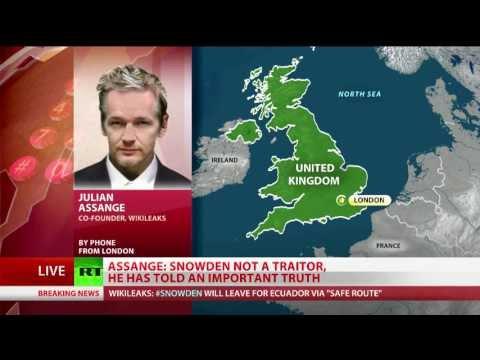 Assange: Snowden, Manning victims of Obama's war on whistleblowers