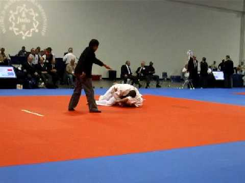 World Masters Judo Match 5 Rick Undesser vs RUSSIA for GOLD Image 1