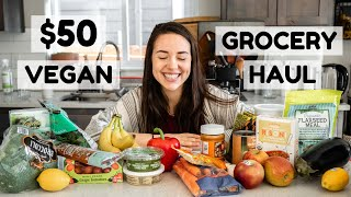 $50 Vegan Grocery Haul from Trader Joes ????