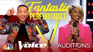"Khalea Lynee sings ""Best Part"" on The Voice 2019 Blind Auditions"