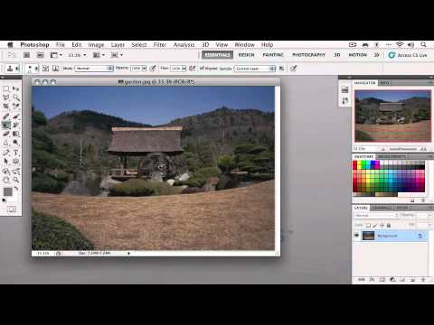 Total Training for Photoshop CS5 Essentials - Chapter 1: Lesson 3. Exploring the Interface