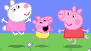 Peppa Pig English Episodes | Baby Alexander plays with Peppa! Peppa Pig Official