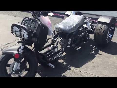 Brand New! Trike Ruckus 150cc Single Cylinder, 4-strokes - Transmission Automatic