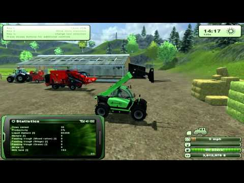 Farming Simulator 2013 - How to Farm Cows. Tutorial