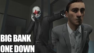 PAYDAY 2: BIG BANK ONE DOWN СОЛО СТЕЛС!