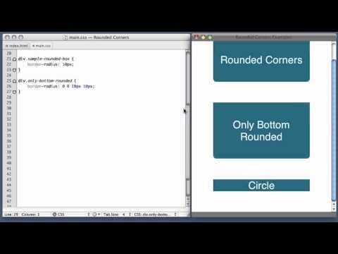 CSS Rounded Corners (border-radius property)