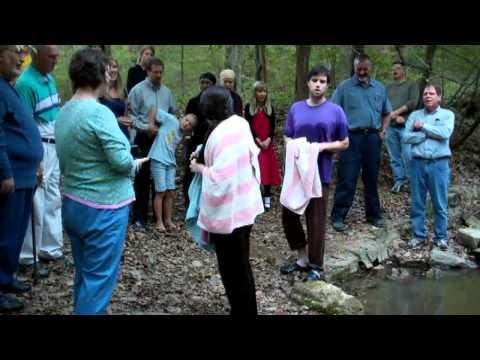 Claire Shelburne's Baptism