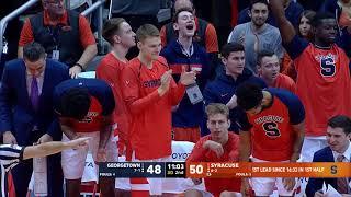 ESPN Highlights | Syracuse vs. Georgetown