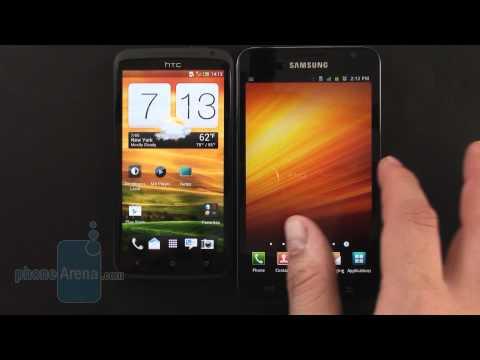HTC One X vs Samsung Galaxy Note