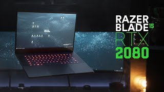 Razer Blade with RTX2080 for CG & VFX