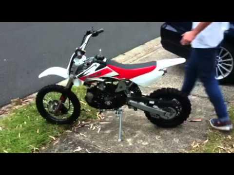 Apollo Dirt Bikes 70cc On Youtube cc Atomik Pit Bike