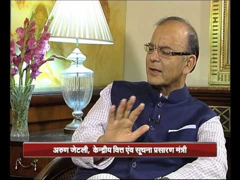 Exclusive interview of Finance, I&B Min Arun Jaitley on completion of one year of NDA Govt at Centre