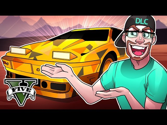 GTA 5 DLC NEW $1,500,000 MACHINE GUN SPORTS CAR! (GTA 5 GunRunning DLC)
