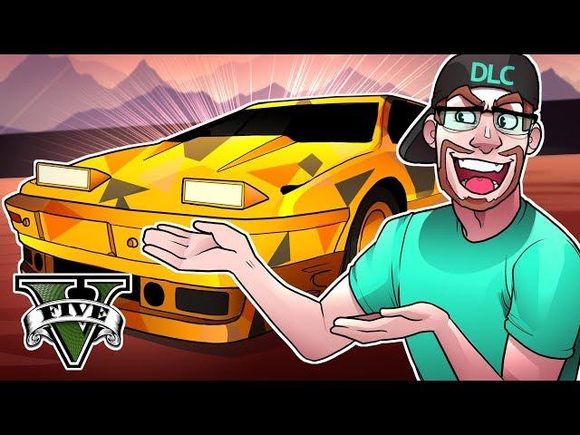 GTA 5 DLC NEW $1,500,000 MACHINE GUN SPORTS CAR! (GTA 5 GunRunning DLC)