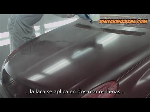 TUTORIAL 12: Aplicación de la pintura de acabado (PINTARMICOCHE.COM)